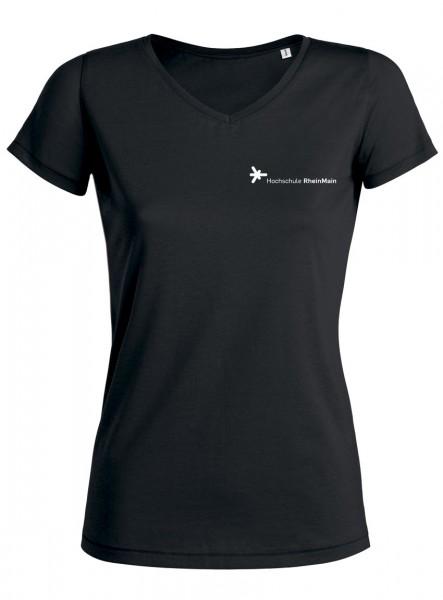 Damen T-Shirt schwarz, BIO