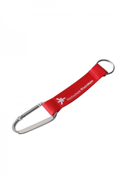 Schlüsselanhänger mit Karabiner - Auslaufartikel